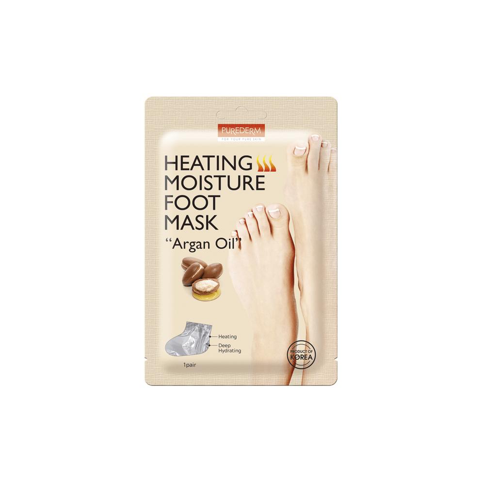 "Heating Moisture Foot Mask ""Argan Oil"""