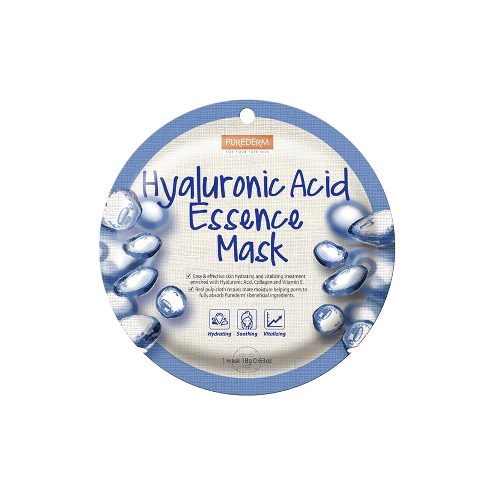 Hyaluronic acid essence mask – Mascarilla esencia ácido hialurónico