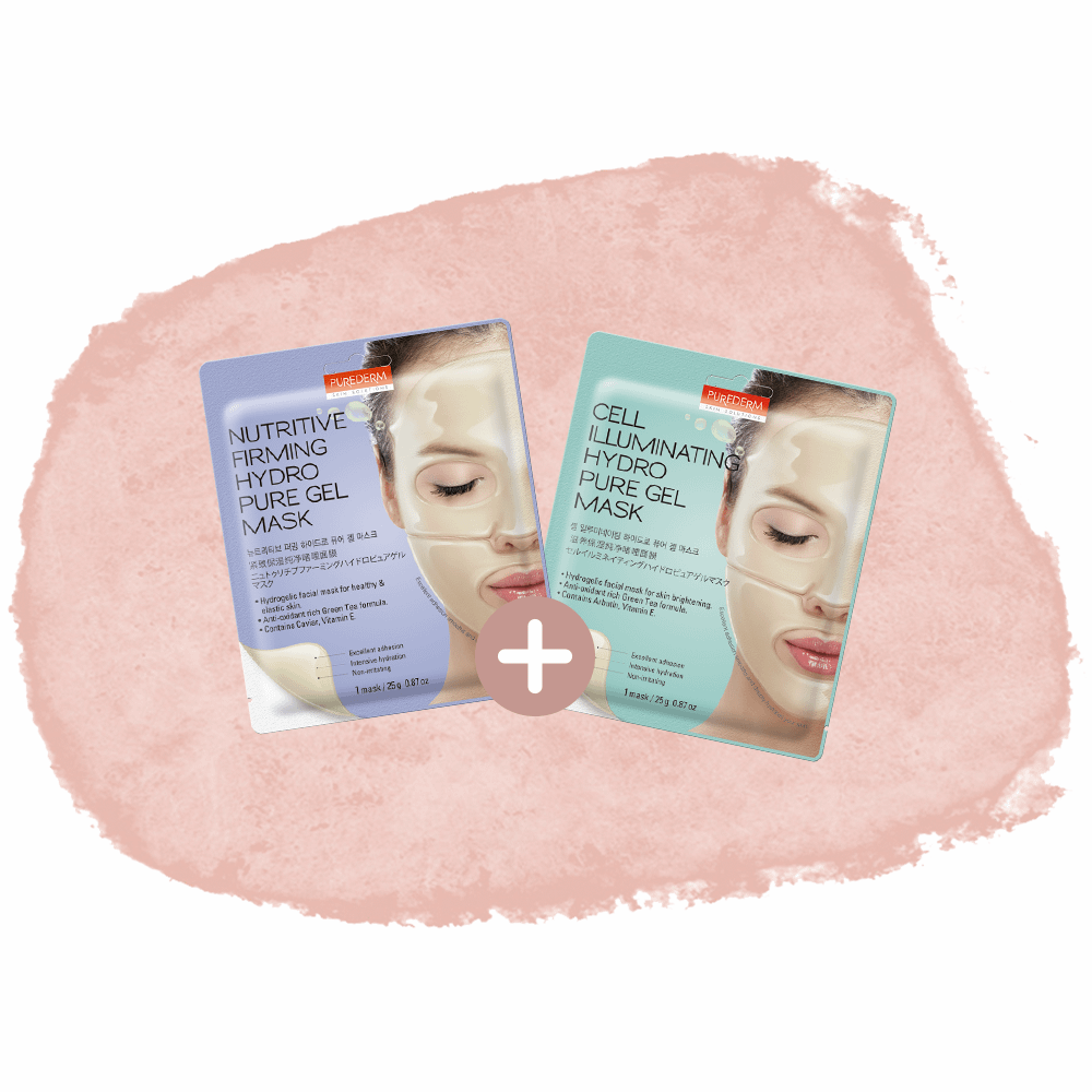 "Combo ""Hydrogel mask addict"""
