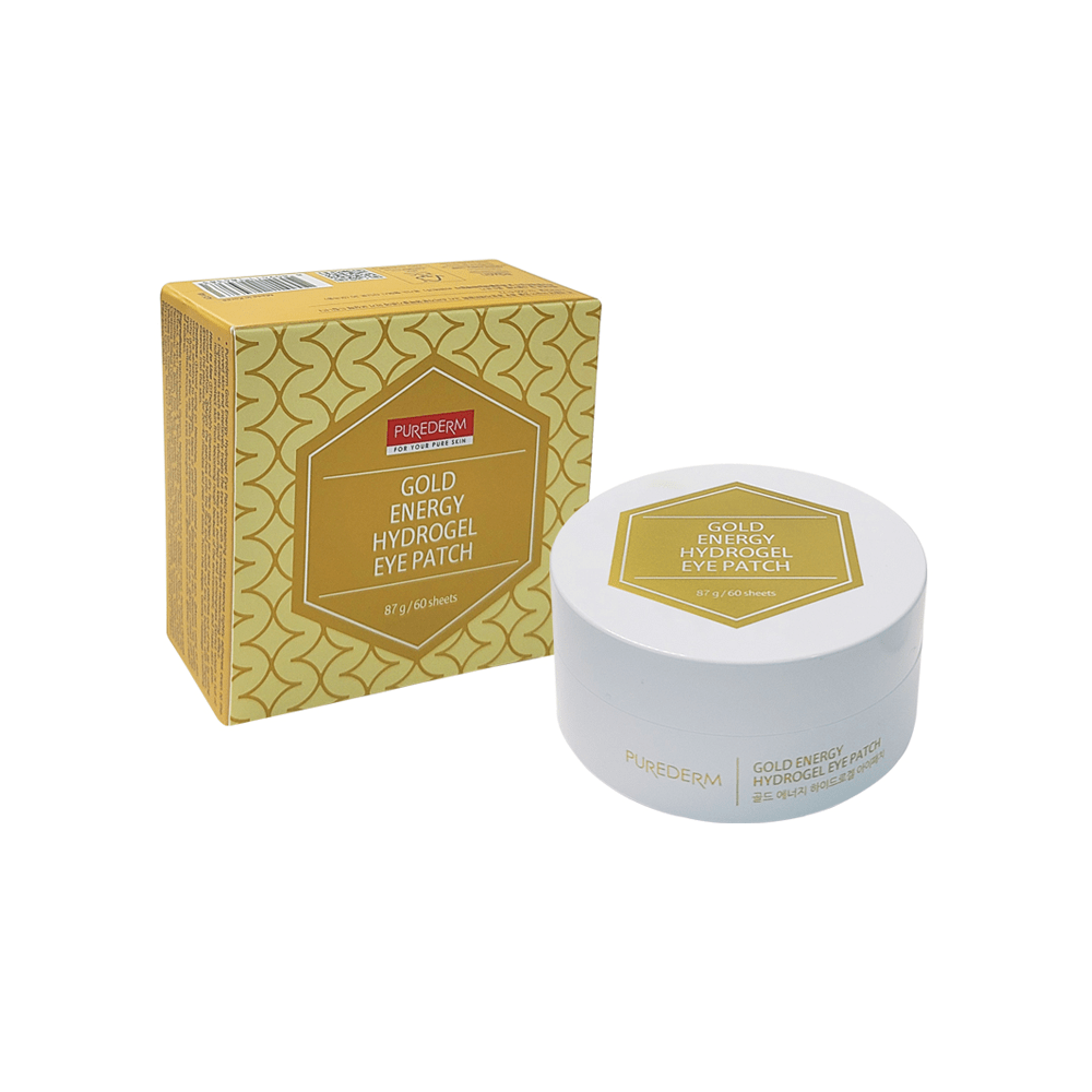 Gold energy hydrogel eye patches – Parches hydrogel firmeza