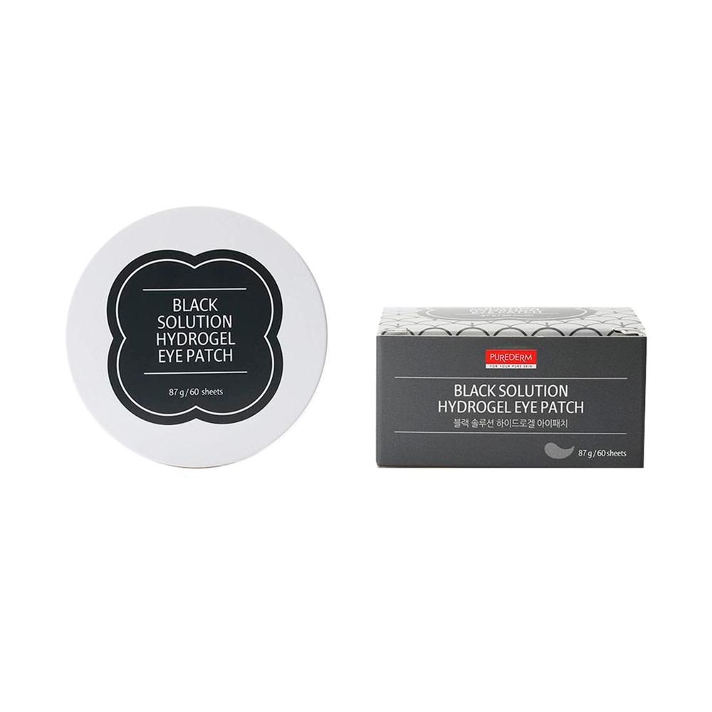 Parches hidrogel ojeras de cansancio – Black solution hydrogel eye patches