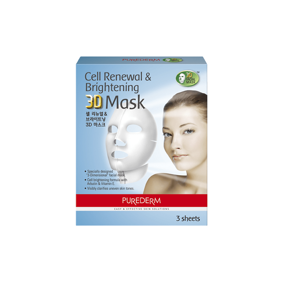 Cell Renewal & Brightening 3D Mask