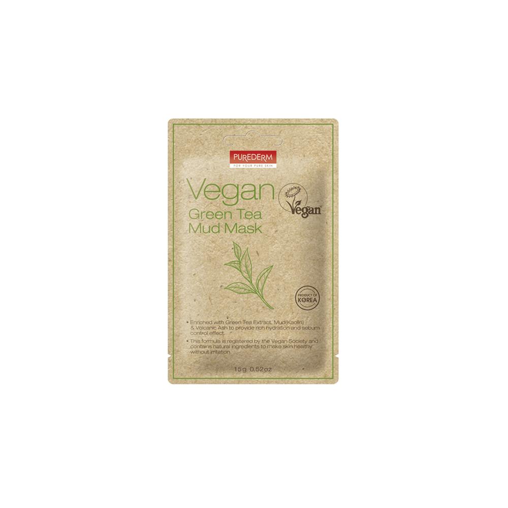 Mascarilla de Arcilla Vegana de Té Verde – Vegan Green Tea Mud Mask
