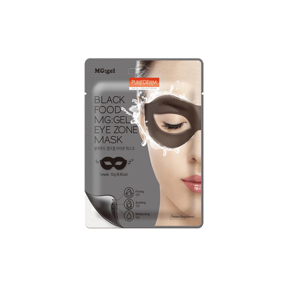 Antifaz MG-GEL Firmeza y Luminosidad – Black Food MG:GEL Eye Zone Mask