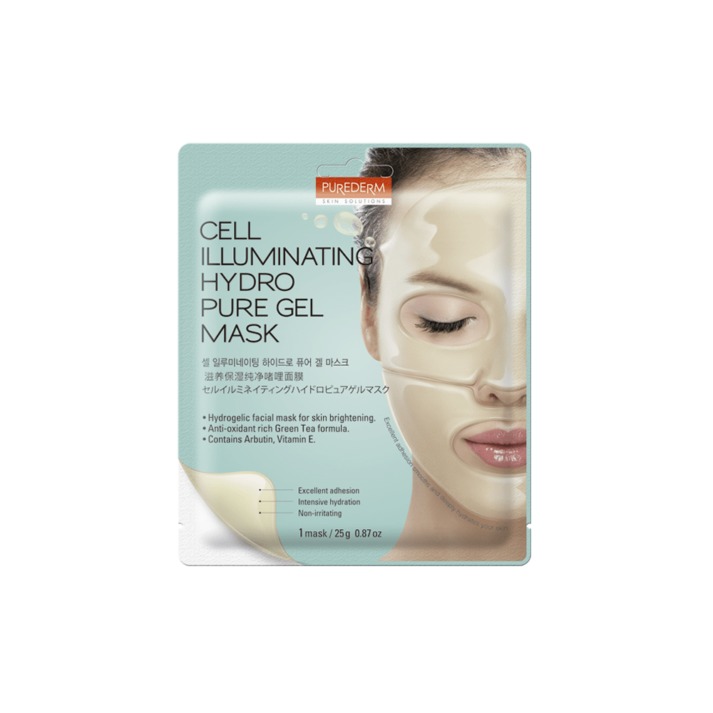 Cell Illuminating Hydrogel Mask