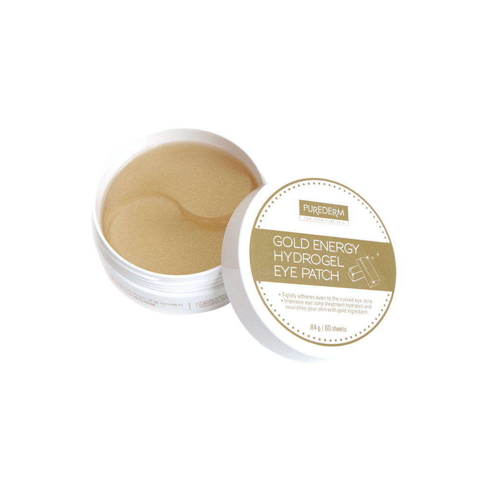 Gold Energy Hydrogel Eye Patches