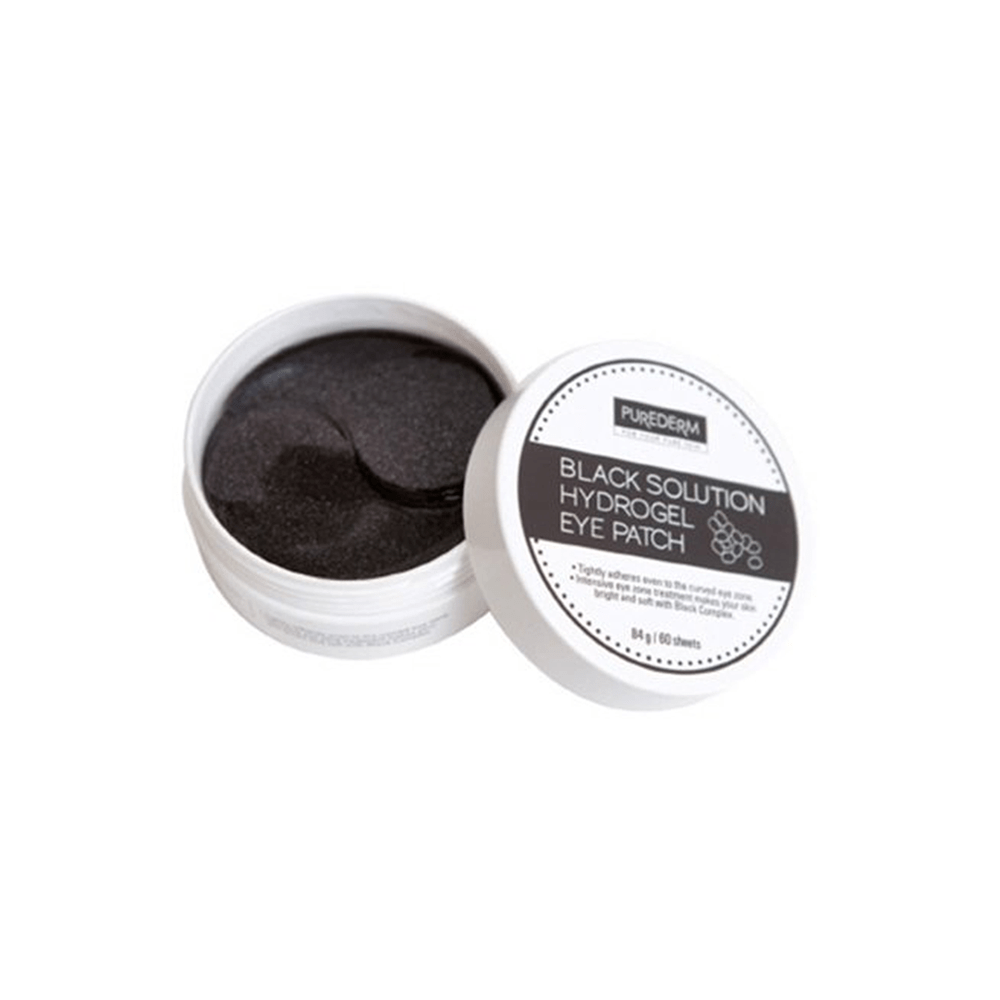 Black Solution Hydrogel Eye Patches