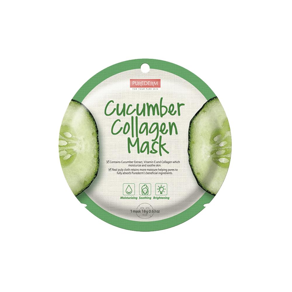 Mascarilla Colágeno Nutritiva –  Cucumber Collagen Mask