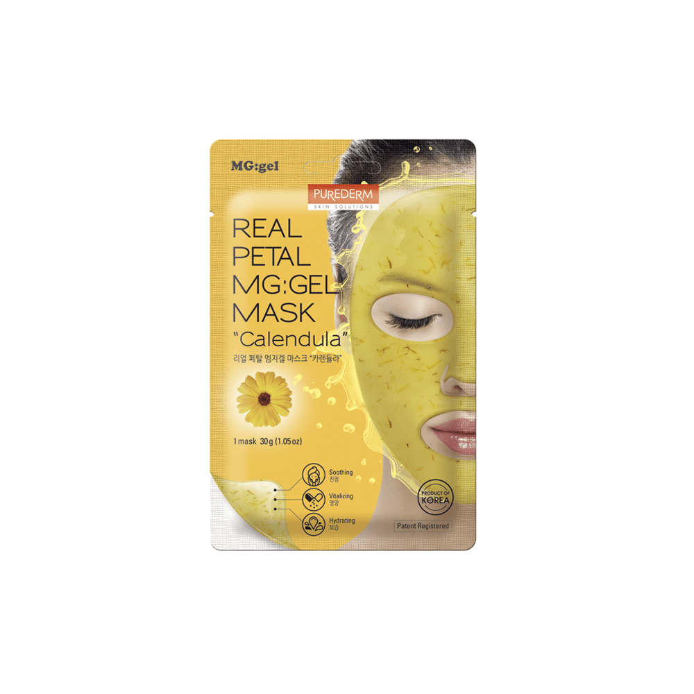 Mascarilla MG-GEL Calmante – Caléndula Real Petal MG:GEL Mask