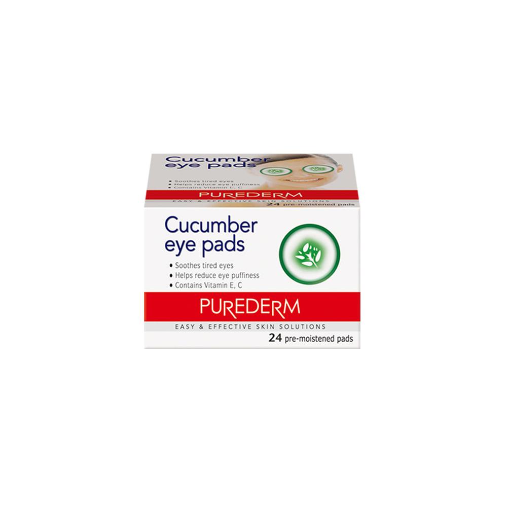 Pads descongestivos y revitalizantes de pepino – Cucumber eye pads
