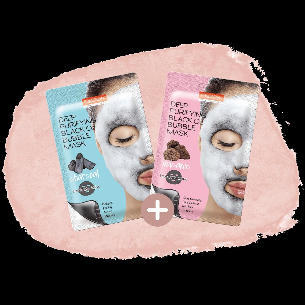 Combo Bubble Mask Addict