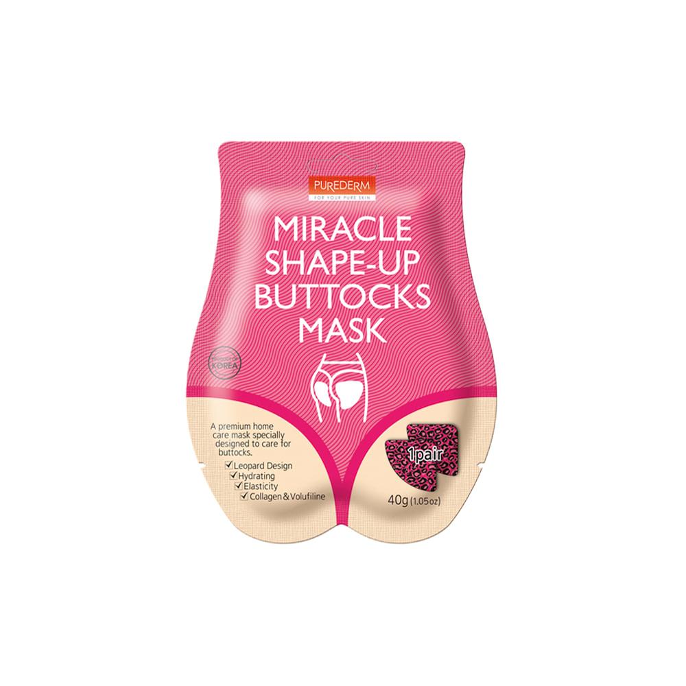 Mascarillas reafirmantes para glúteos – Miracle shape-up buttocks mask