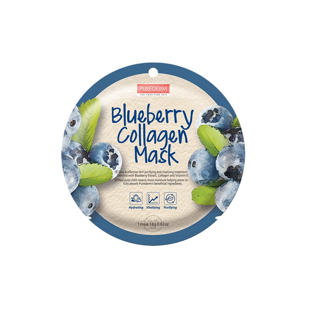 Mascarilla colágeno anti-oxidante – Blueberry collagen mask