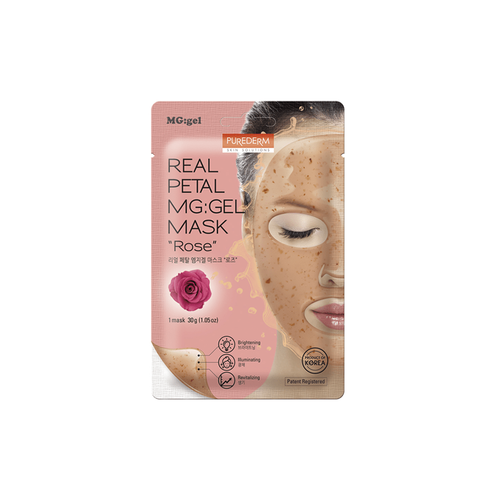 Mascarilla MG-GEL  Revitalizante e Iluminadora – Rose Real Petal MG:GEL Mask