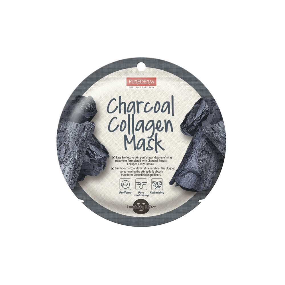 Mascarilla Colágeno de Carbón Purificante – Charcoal Collagen Mask